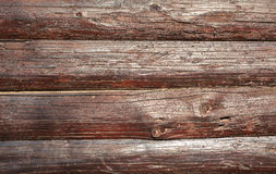 Wooden Wall of Planks Stock Photography