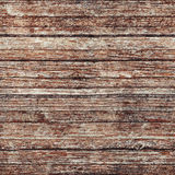 Wooden wall with red paint, seamless background texture Stock Image