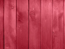 Wooden wall red Stock Photography