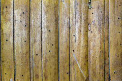 Wooden Wall at Rustic House Royalty Free Stock Photography