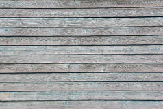 Wooden wall with shabby light blue paint, texture Stock Photography