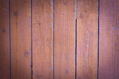Wooden wall stained with stain Royalty Free Stock Images