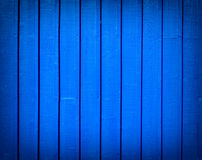 Wooden wall texture blue background Stock Images