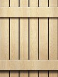 Wooden wall texture in panels Royalty Free Stock Image