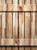 Wooden wall texture in panels Royalty Free Stock Images