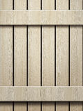 Wooden wall texture in panels Stock Image