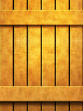 Wooden wall texture in panels Stock Images