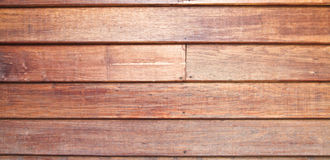 Wooden wall of a traditional Thai house Royalty Free Stock Photo