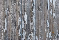 Wooden wall from vertical boards Royalty Free Stock Photos