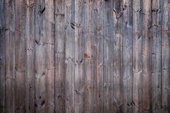 Wooden wall. Vintage pine wooden wall with random texture background, vignette effect Stock Images