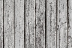 Wooden wall with white paint Stock Images