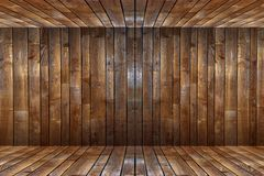 Wooden Walls Background Stock Image