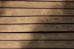 Wooden walls Stock Photography