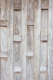 Wooden walls of old Thai houses Stock Images