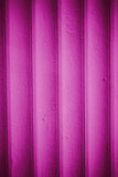 Wooden walls painted with magenta paint Royalty Free Stock Photo