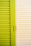 Wooden wardrobe Stock Photos