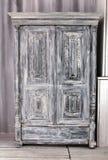 wooden wardrobe royalty free stock image