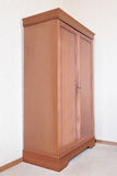 Wooden wardrobe Stock Photography