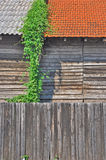 Wooden warehouse Stock Image