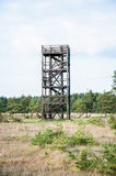 Wooden watchtower Royalty Free Stock Photo