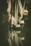 Wooden watermill Royalty Free Stock Image
