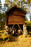 Wooden watermill Telemark, Norway Stock Photos