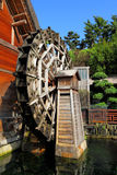 Wooden waterwheel Stock Photos