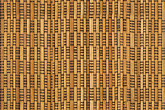 Wooden wattled surface Royalty Free Stock Images