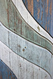 Wooden wave texture. Photo of worn wooden wave texture Stock Image