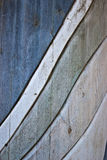 Wooden wave texture. Photo of worn wooden wave texture Stock Images