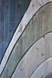 Wooden wave texture. Photo of worn wooden wave texture Stock Photos