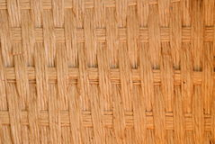 Wooden weave basket texture and background Royalty Free Stock Photo