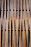 Wooden weave pattern background, Thai handcraft. Stock Photos