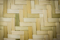 Wooden weave patterned background Royalty Free Stock Images
