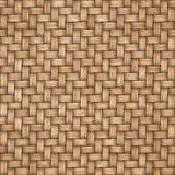 Wooden weave texture background. Abstract decorative wooden textured basket weaving background. Seamless pattern. Stock Photos