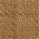 Wooden weave texture background. Abstract decorative wooden textured basket weaving background. Seamless pattern. Stock Photography