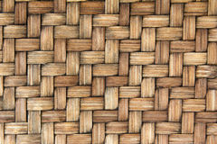 Wooden weave texture background Royalty Free Stock Photos