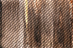 Wooden weave Stock Photo