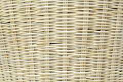 Wooden weave of wicker basket background Royalty Free Stock Photo