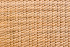 Wooden weaving wicker background Stock Photo