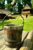 Wooden well Royalty Free Stock Image