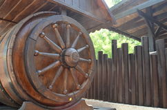 Wooden well Royalty Free Stock Photos