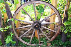 Wooden wheel Royalty Free Stock Photo