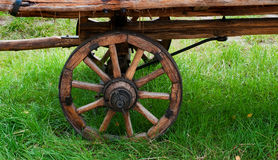 Wooden wheel Royalty Free Stock Photography