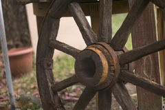 Wooden wheel royalty free stock images