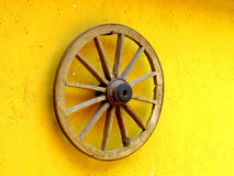 Wooden wheel Stock Photo