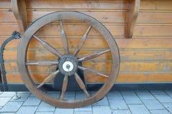 Wooden wheel . Royalty Free Stock Photos