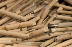 Wooden whistles Royalty Free Stock Image