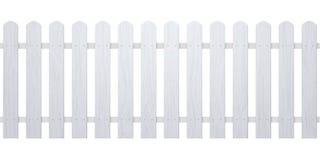Free Wooden White Fence Illustration. Farm Wood Wall Yard, Cartoon Garden. Timber Gate Background Pattern Royalty Free Stock Photo - 154897775
