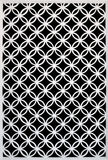 Wooden white lattice Stock Images